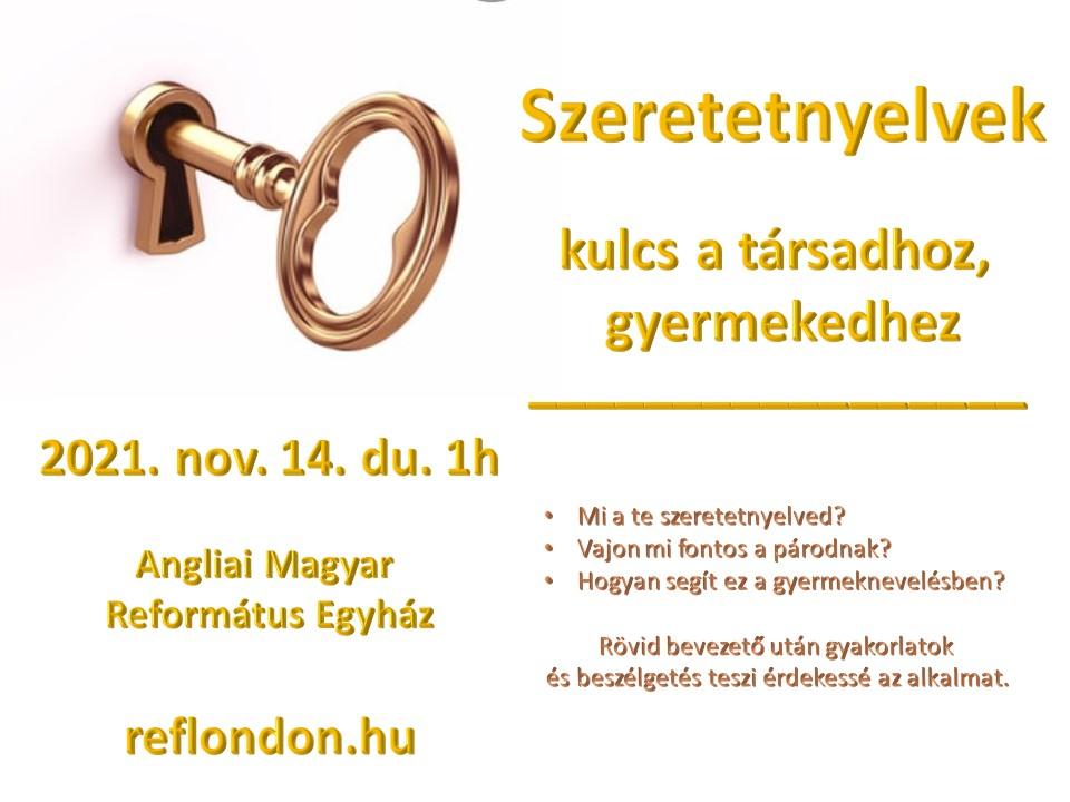 Következő istentisztelet október 24-én vasárnap de. 11h és du. 3h
